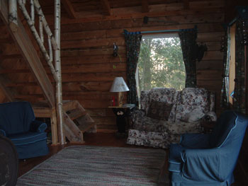 Cabin Rental at the Tin Teepee Family Campground : A Great Family